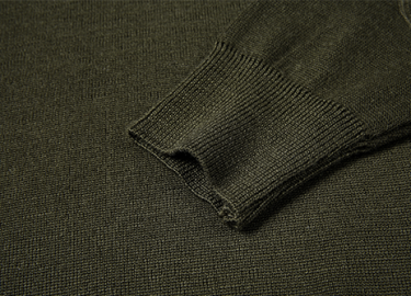 V-neck army olive green sweater for police (6)