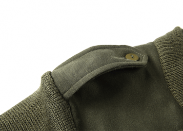 olive green army sweater (1)