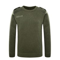 olive green army sweater (4)