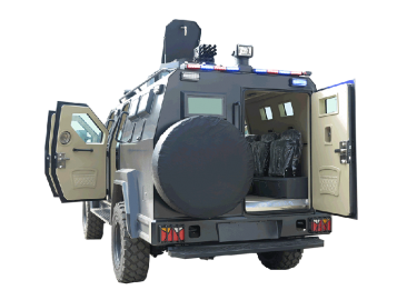 APC armored personnel carrier with bulletproof function for NIJ III (5)