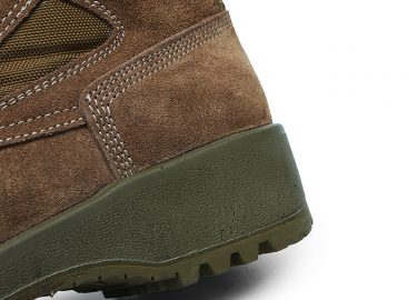 PU injection military boots (1)