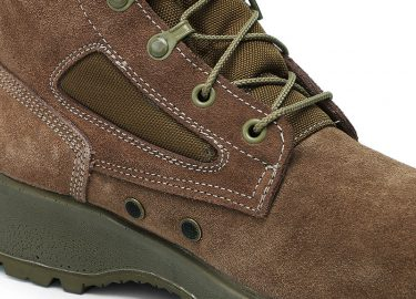 PU injection military boots (2)