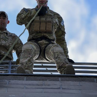 Army-Jumping