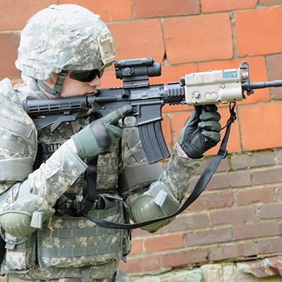 Military Laser Scope For Rifle (4)
