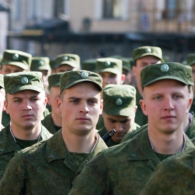 Russian-soldiers