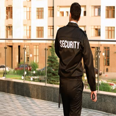 Security-guard's-carrying