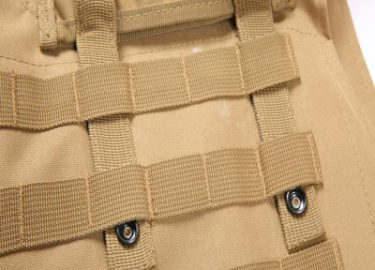 molle system easy to add any holster or pouch