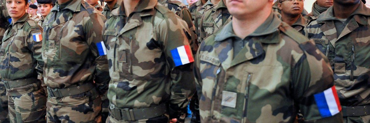 French F1 Jacket for French Army