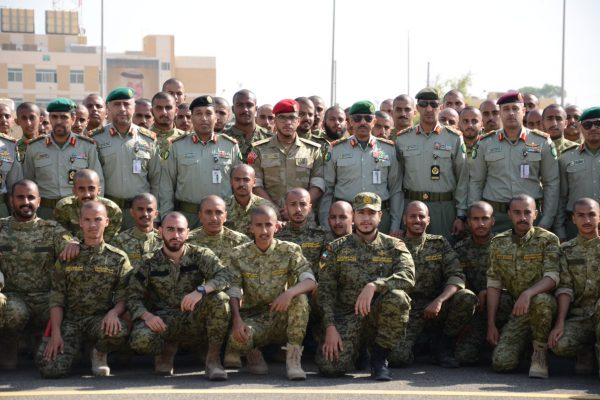 Kuwait national guards soldier wearing ACU military uniform (2)