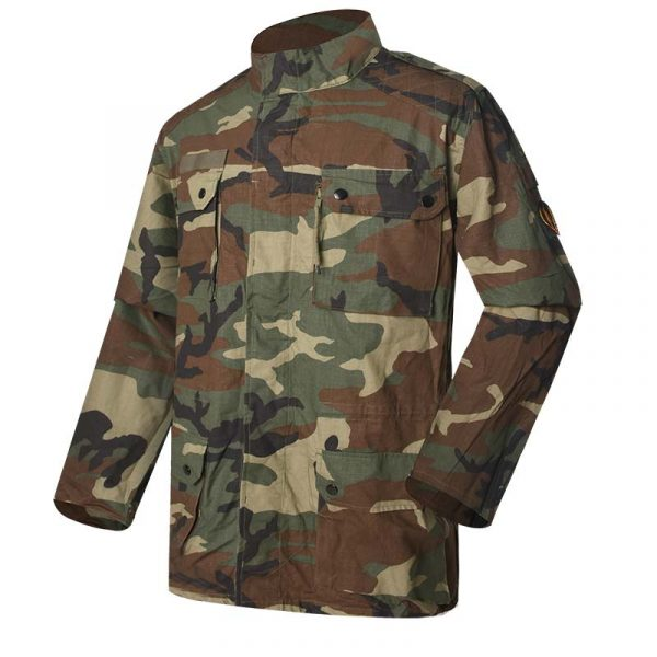 Military Jacket Model French F1 Field Jacket Color woodland camouflage For Military Solider MJXX10 (1)