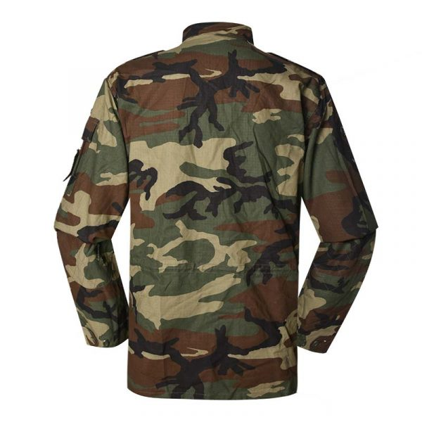 Military Jacket Model French F1 Field Jacket Color woodland camouflage For Military Solider MJXX10 (2)