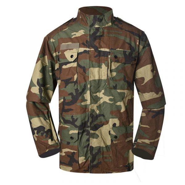 Military Jacket Model French F1 Field Jacket Color woodland camouflage For Military Solider MJXX10 (6)