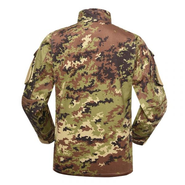 Military uniform Army Combat Uniform Model ACU Color Italian Vegetato Camouflage For Military Solider MFXX12 (1)