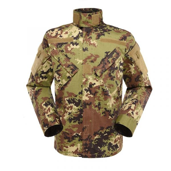 Military uniform Army Combat Uniform Model ACU Color Italian Vegetato Camouflage For Military Solider MFXX12 (4)