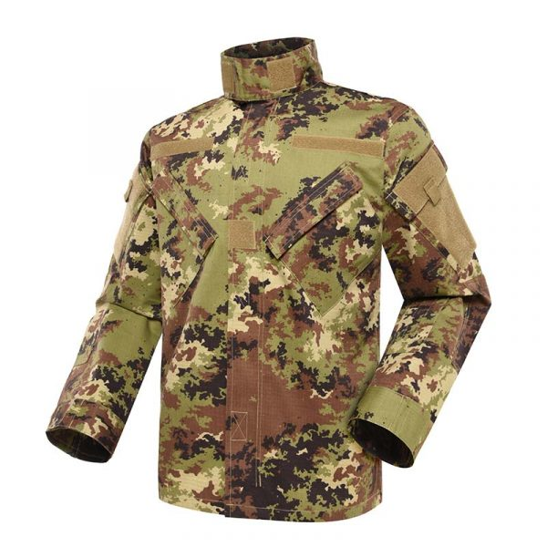 Military uniform Army Combat Uniform Model ACU Color Italian Vegetato Camouflage For Military Solider MFXX12 (6)