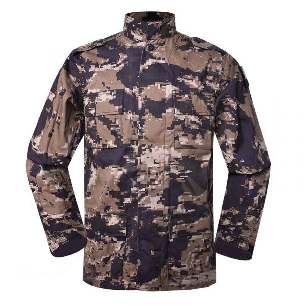 Military uniform BDU Color Blue Grey KA2 digital camouflage For Jordanian Civil Defense MFXX18 (1)
