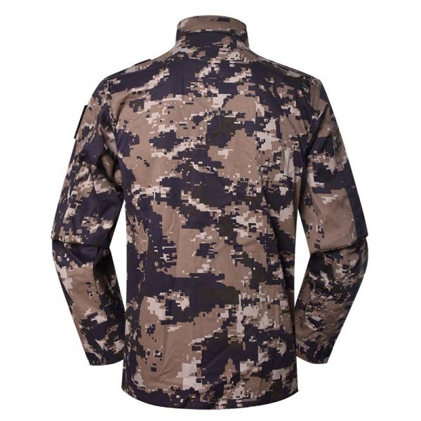 Military uniform BDU Color Blue Grey KA2 digital camouflage For Jordanian Civil Defense MFXX18 (3)
