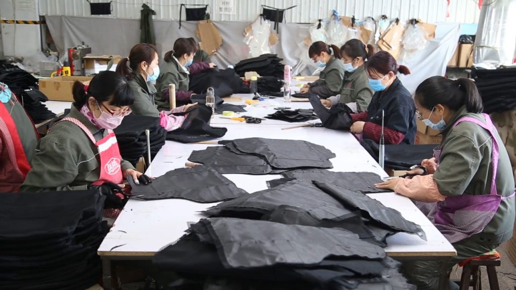 bulletproof vest production lines (6)